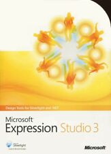 Microsoft Expression Studio 3 Windows Full Retail Version MINT