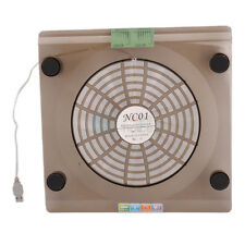 "14.1""-15.4"" Laptop PC Notebook USB Air Cooling Fan LED Cooler Pad with LED Light"