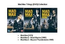 MAD MAX TRILOGY DVD COLLECTION 1 2 3 ALL MOVIE FILM Mel Gibson Sealed UK Release