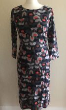 White Stuff Holland Jersey dress Old Town Blue Print size 8 (Seconds)