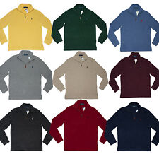 Men's Polo Ralph Lauren SWEATER Half Zip Sweatshirt Size S M L XL XXL
