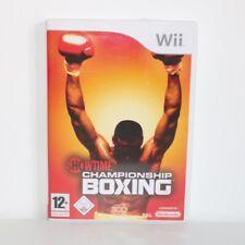 Showtime Championship Boxen - Nintendo Wii Spiel - Vgc