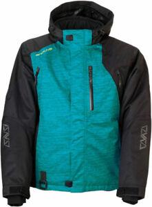 Arctiva 2020 LAT48 Insulated Waterproof Jacket (Black/Green) Choose Size