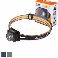 Fenix HL40R 600 Lumen Focusable Spot/Flood Rechargeable LED Headlamp (Gray)
