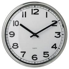 IKEA PUGG Wall clock, stainless steel