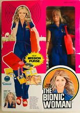Bionic Woman With Mission Purse (Factory Sealed) (Gmfg, Kenner 1977)