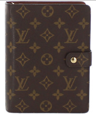 LOUIS VUITTON Monogram Agenda MM Day Planner Cover R20004  Auth F/S JAPAN