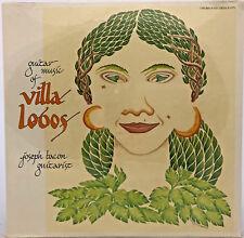 Guitar Music of Villa Lobos Joseph Bacon Guitarist Arch Records S-1771 LP  <v01>