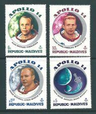 MALDIVES 1971 Moonflight SET MNH