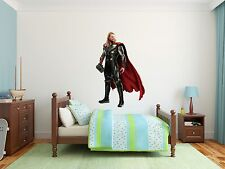 Thor Superheroe Marvel Wall Decal Decor For Kids Childs Car Home X-Large