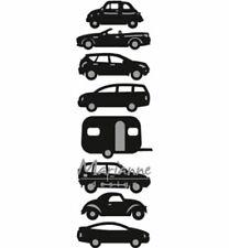 Stanz-/Prägeschablone Auto Camper Wohnwagen Car MarianneDesign Craftables CR1418
