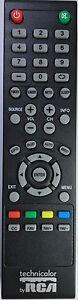 Original New Technicolor by RCA  TV Remote for most Technicolor RCA LED LCD TVs