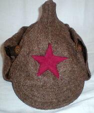 Vintage Russia Soviet Red Army Uniform Hat Budenovka Military Rare Cap USSR Star
