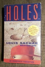 HOLES by Louis Sachar Audiobook on 3 Cassette Tapes UNABRIDGED Read by K. Beyer