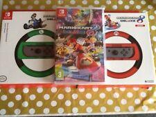 Nintendo Switch New Luigi et Mario Kart 8 Deluxe et 2 roues Coffret Anniversaire