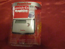 Franklin Spanish English Translator TES-118 Traveling Vacation Language