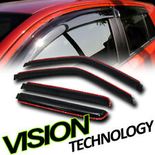 In-Channel Smoke Shade Window Visors For 92-99 Suburban/95 Tahoe/99-00 Escalade