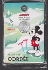 France - Pièce de 10 euros Argent - Mickey - N°5 - Premier de cordée