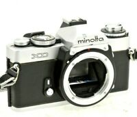 MINOLTA XD 35MM FILM CAMERA BODY - FULLY TESTED - NEW BATTERIES