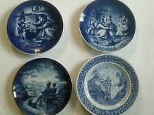 Vintage lot 4 plates MOTHERS DAY MUTTERTAG MORS TAG ANNIVERSARY 1972 1973
