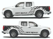 Decal Graphic Side Stripe Kit for Nissan Frontier (Model 1)
