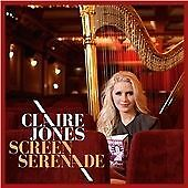 CLAIRE JONES, SCREEN SERENADE, SEALED 12 TRACK CD ALBUM FROM 2016