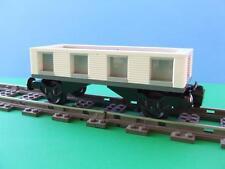 NEW City Cargo Train Custom Built w/ New Lego Bricks fits  RC IR 9V Track Sets