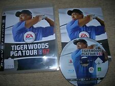 TIGER WOODS PGA TOUR 07  - Rare Sony PS3 Game