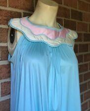 Very Rare Vintage Deadstock BILL TICE Antron Nylon Nightgown Full Length M/L