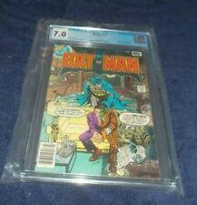 BATMAN # 313 CGC 7.0 NEW CASE 1979 DC COMIC TIMOTHY FOX NEW BATMAN FUTURE STATE
