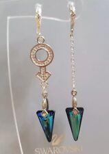 Pendientes de Swarovski geométrico Cristal Pendientes de Gota Original Swarovski elementblue
