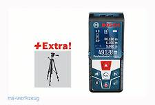 Bosch GLM 50 C Laser-Entfernungsmesser mit Schutztasche + Stativ BT 150