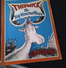 Thidwick the Big-hearted Moose by Dr. Seuss (Paperback, 1990)