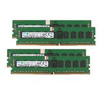 For Samsung 32GB 4X 8GB 1Rx4 PC4-2133P 17000 DDR4 2133Mhz ECC Server Memory RAM