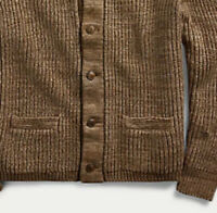 Polo Country Ralph Lauren X-Large Cable Knit Cardigan Sweater RRL VTG Hunting XL