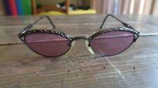 Jean Paul Gaultier 56 0003 Dark Silver Oval Sunglasses 1990'S Made In Japan