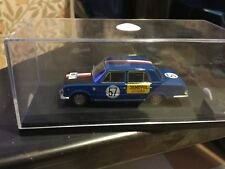 fiat 124 berlina rally San Martino 1967 gamma models 1/43 montato