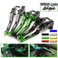 CNC Folding Extendable Adjustable Brake Clutch Levers For KAWASAKI ZZR 600 90-04