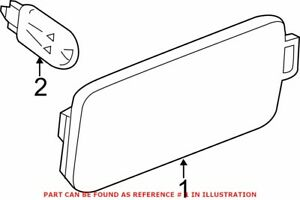 Genuine OEM Side Marker Light for Audi 4G8945128
