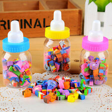 25pcs Funny Cartoon Number Rubber Pencil Eraser For Children Stationery Gift Toy