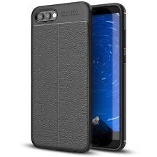 Huawei Honor View 10 Hülle Leder-Look Handyhülle von NALIA, Silikon Cover Case