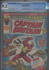 Captain Britain #1 CGC 9.2 1976 Marvel Comics Origin and 1st App Mask Included