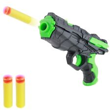 2in1 Toy Gun Soft Bullet Water Crystal Pistol Gift Kids Shooting Game Set Rubber