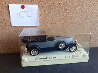 SOLIDO Age D'or 1926 Renault 40CV 4149 Die-Cast 1:43 Model Car