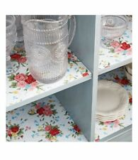"""The Pioneer Woman SWEET ROSE  Non-adhesive Shelf Liner 20""""w x 6'L"""