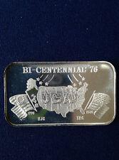 1976 Bicentennial '76 ZM-8 Greathouse Ser #200/195 Silver Art Bar P0593