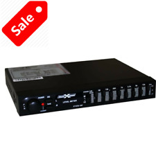 Car Audio 7-Band Graphic Equalizer With Fader Control Passive Stereo Sub Woofer