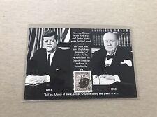 Canada 1965 Fdc Maxicard+Sir Churchill #Sg565+Stancraft Cachet +Longfellow Quote