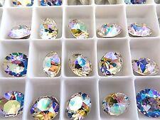 6 Silk AB Swarovski Crystal Chaton Stone 1088 39ss 8mm