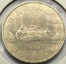 1980 Canada 1 dollar - AU-55 Condition